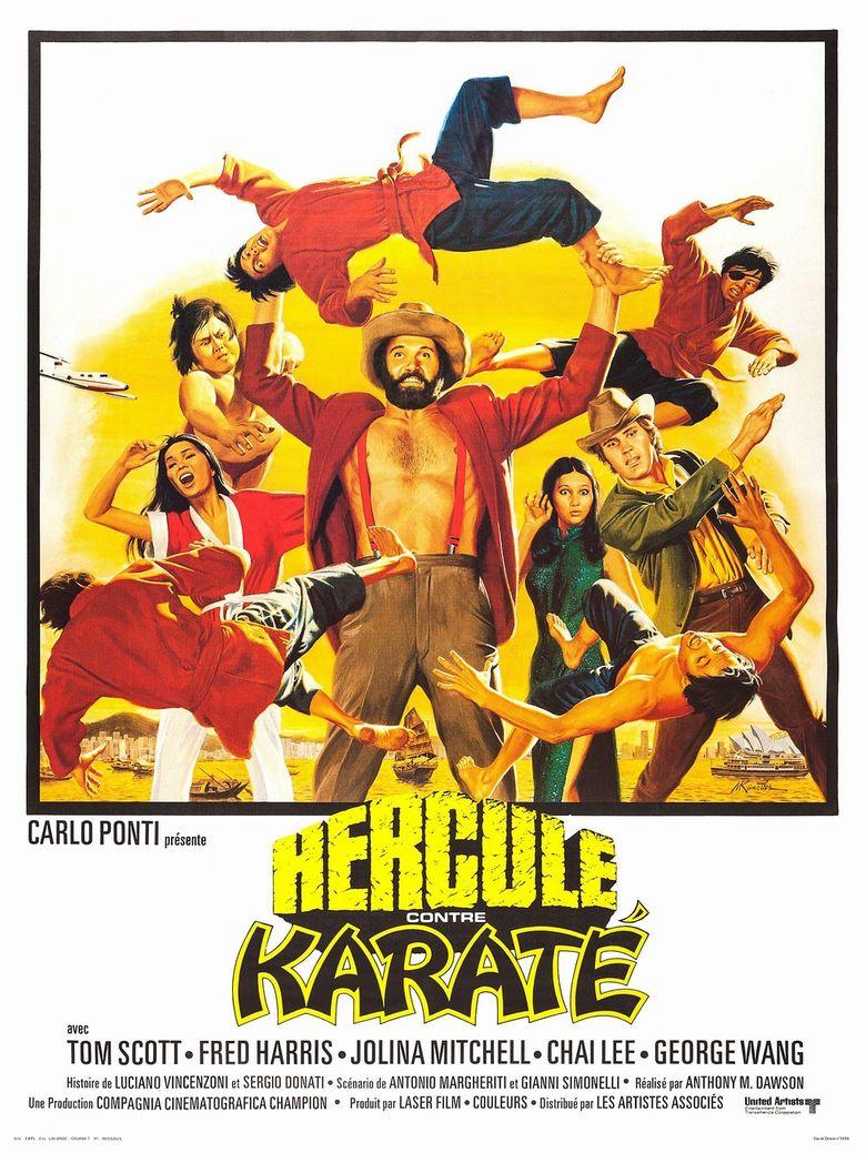 Mr. Hercules Against Karate Poster