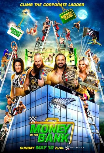 WWE Money in the Bank 2020 Poster