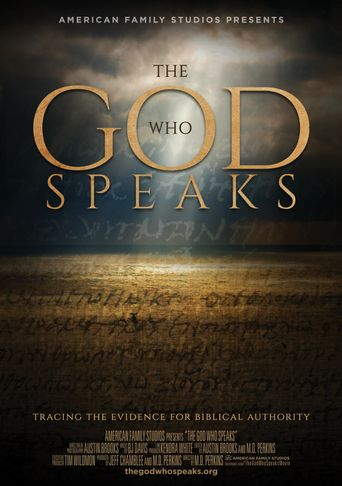 The God Who Speaks Poster