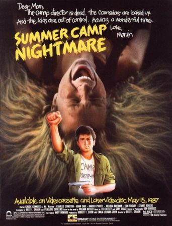 Summer Camp Nightmare Poster
