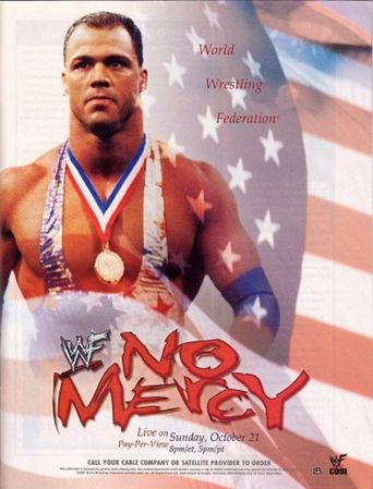 WWE No Mercy 2001 Poster