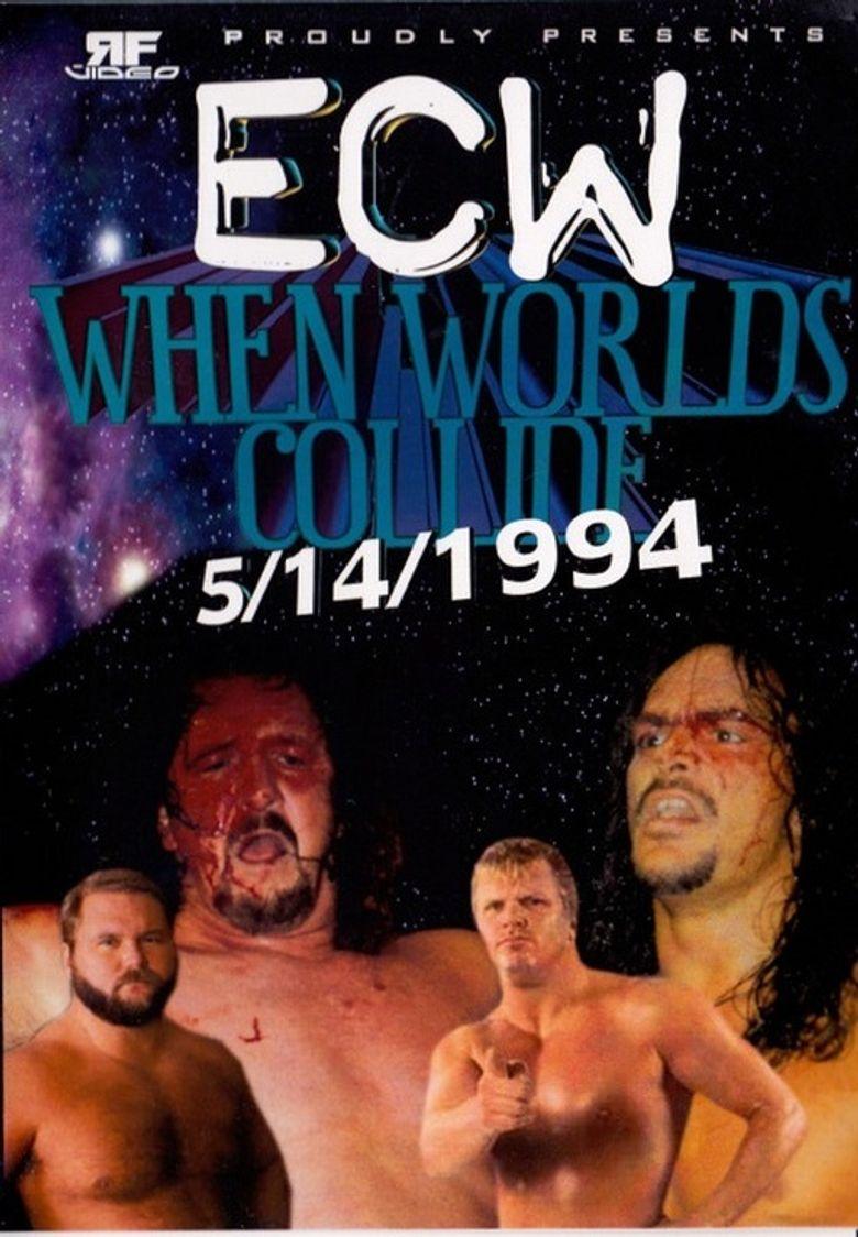 ECW When Worlds Collide Poster