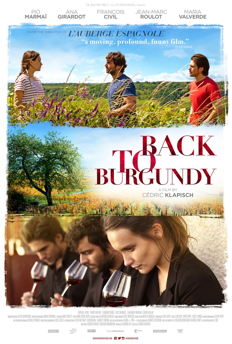 Back to Burgundy Poster