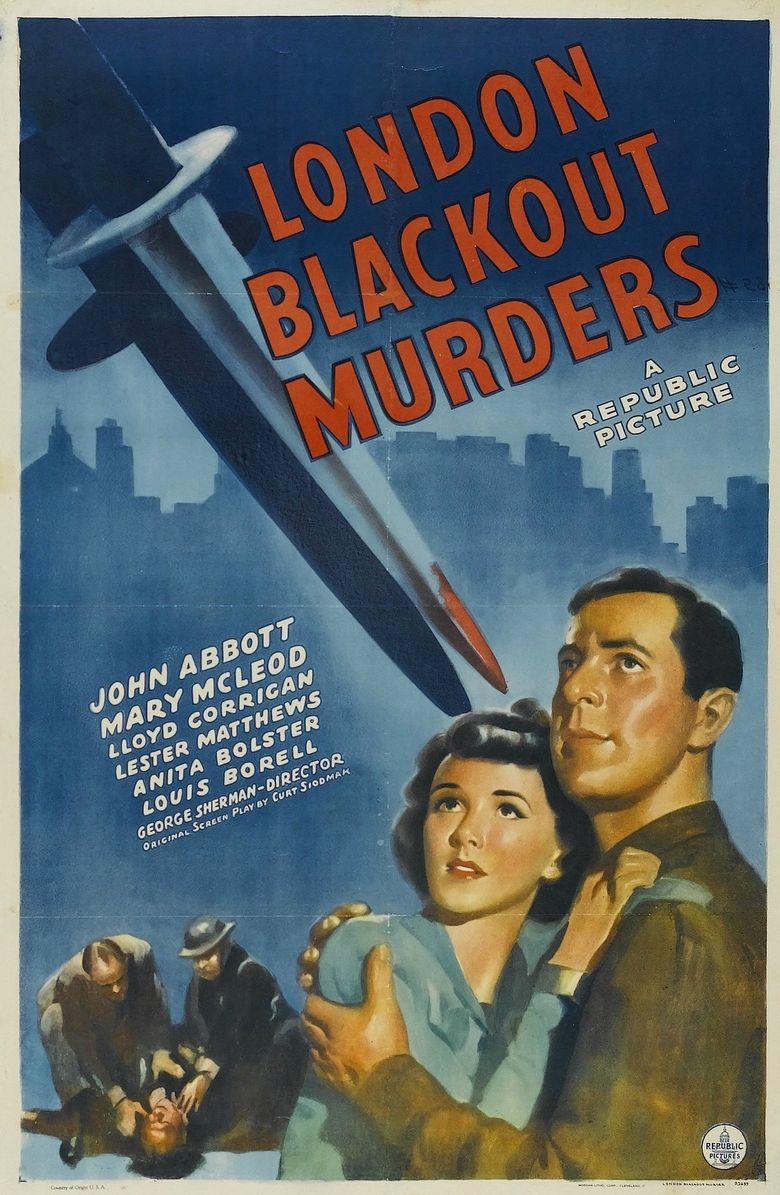 London Blackout Murders Poster
