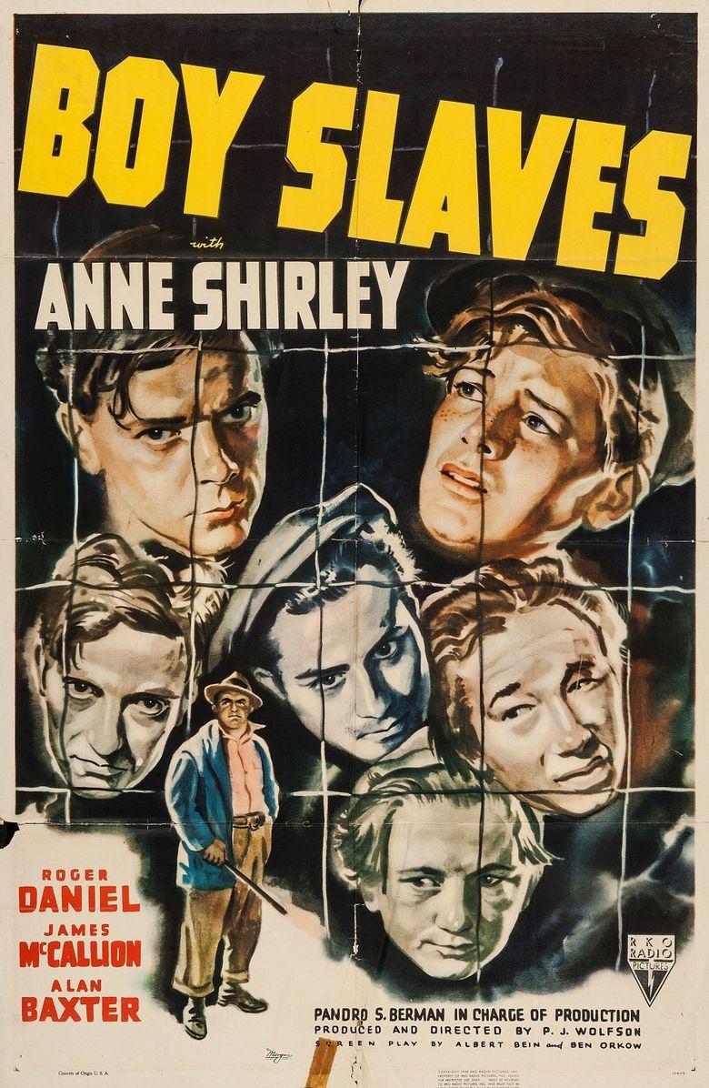 Boy Slaves Poster