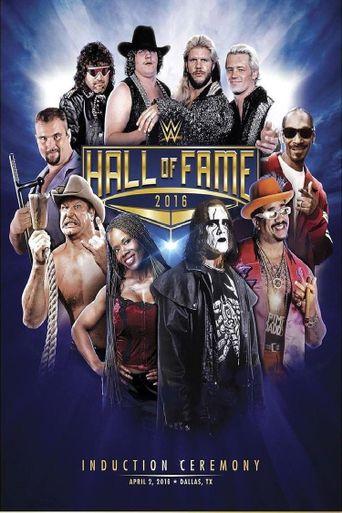 WWE Hall of Fame 2016 Poster
