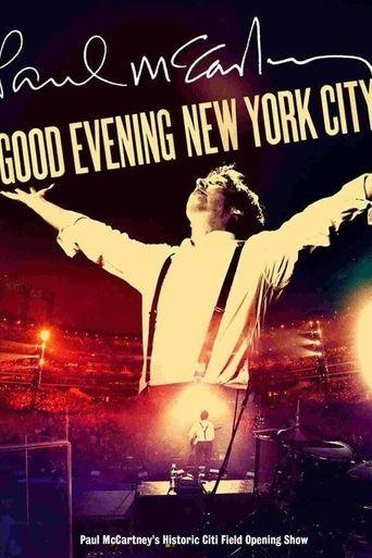 Paul McCartney: Good Evening New York City Poster