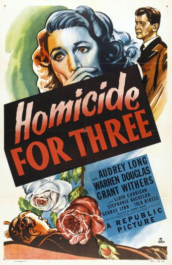 Homicide for Three Poster