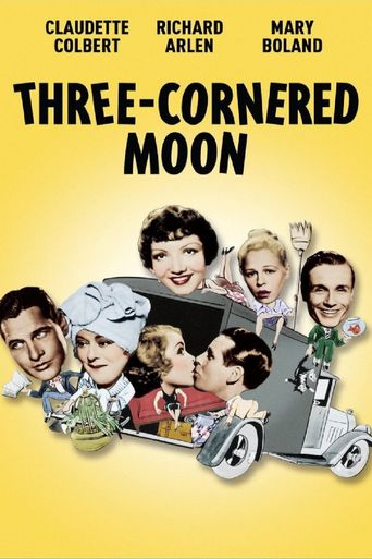 Three-Cornered Moon Poster