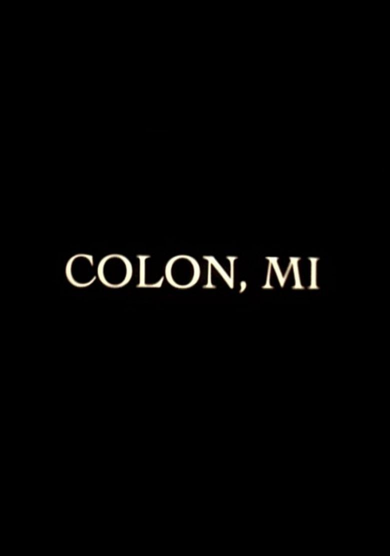 Colon, Michigan Poster