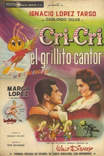 Cri Cri el Grillito Cantor Poster