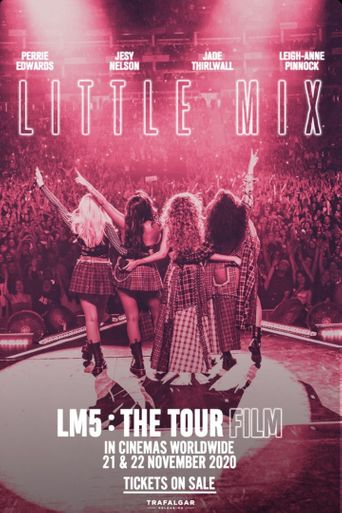 Little Mix: LM5: The Tour Film Poster