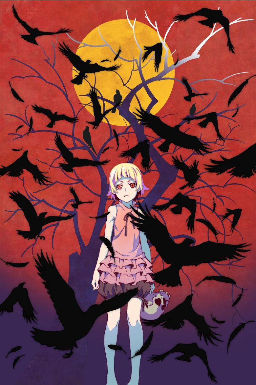 Kizumonogatari Part 1: Tekketsu Poster