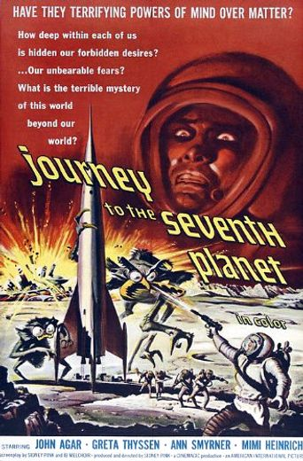 Journey to the Seventh Planet Poster
