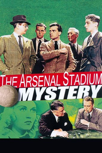 The Arsenal Stadium Mystery Poster