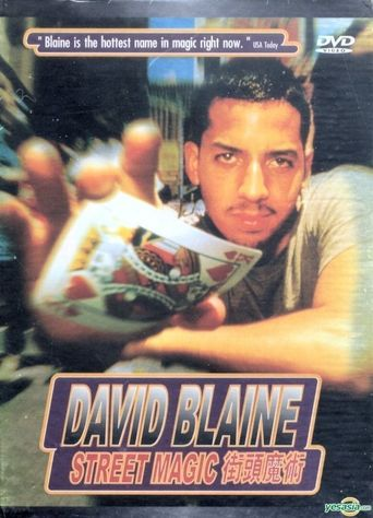 David Blaine: Street Magic Poster