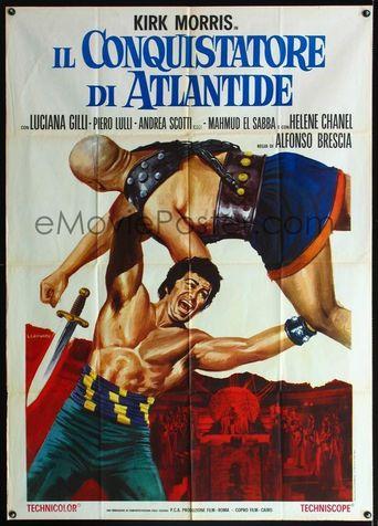 Il conquistatore di Atlantide Poster