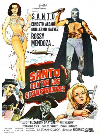 Santo vs. the Kidnappers Poster