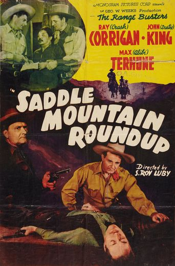 Saddle Mountain Roundup Poster