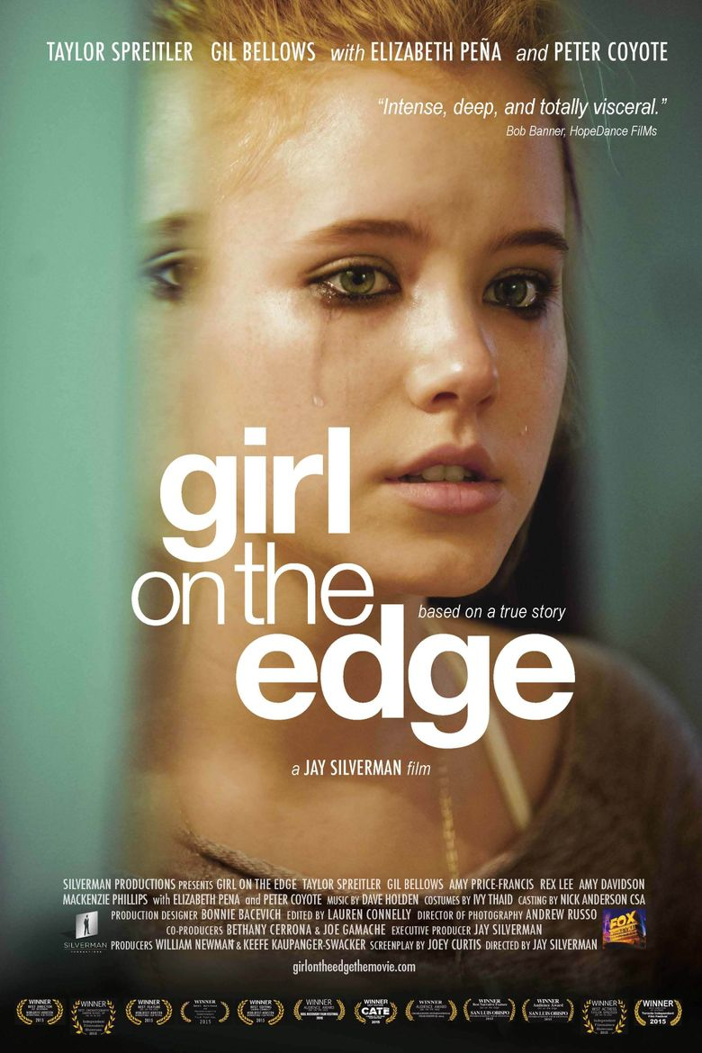 Girl on the Edge Poster