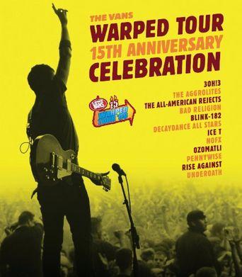 The Vans Warped Tour 15th Anniversary Celebration Poster
