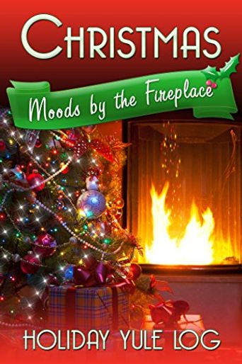 Christmas Moods by the Fireplace: Holiday Yule Log Poster