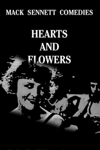 Hearts and Flowers Poster