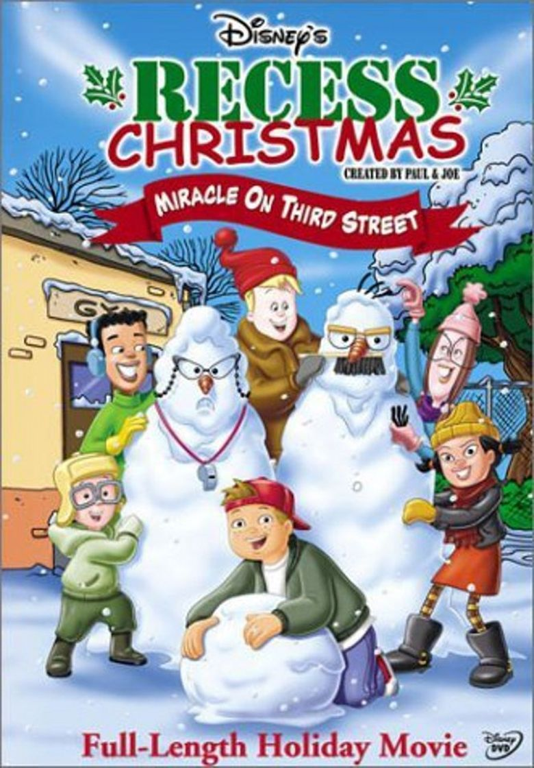 Recess Christmas: Miracle On Third Street Poster