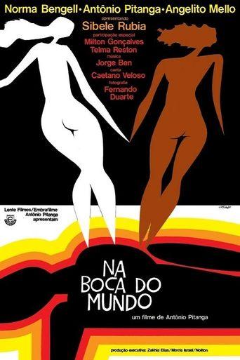 Na Boca do Mundo Poster