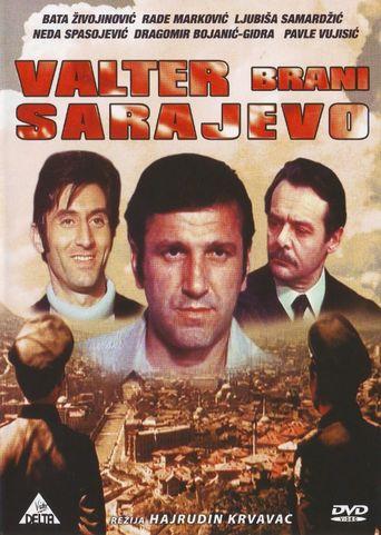 Walter Defends Sarajevo Poster