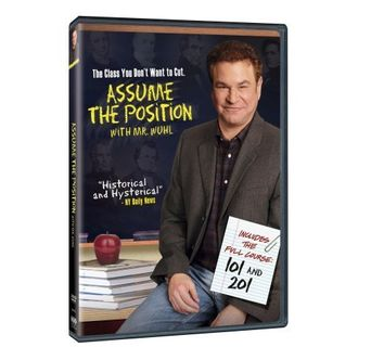 Assume the Position with Mr. Wuhl Poster