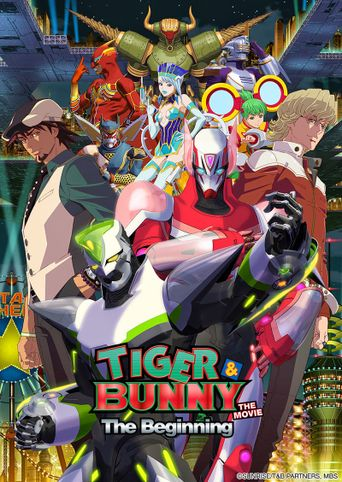 Tiger & Bunny: The Beginning Poster