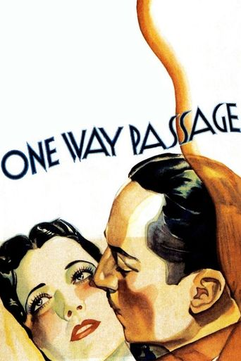 One Way Passage Poster