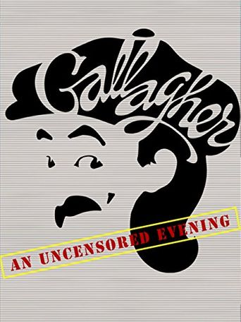 Gallagher: An Uncensored Evening Poster