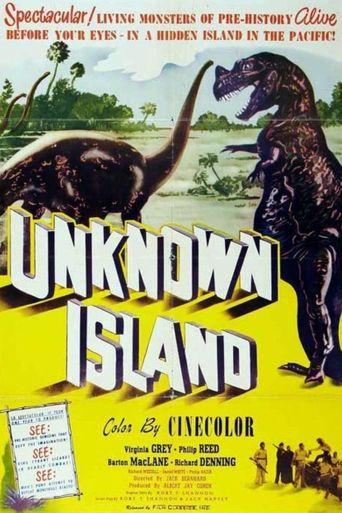Unknown Island Poster