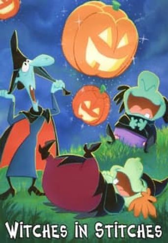 Witches in Stitches Poster