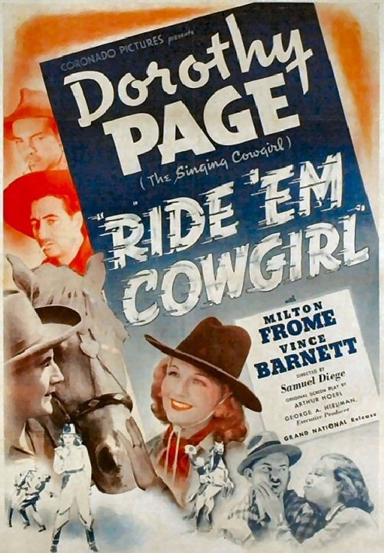 Ride 'em, Cowgirl Poster