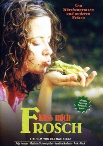 Kiss Me Frog Poster