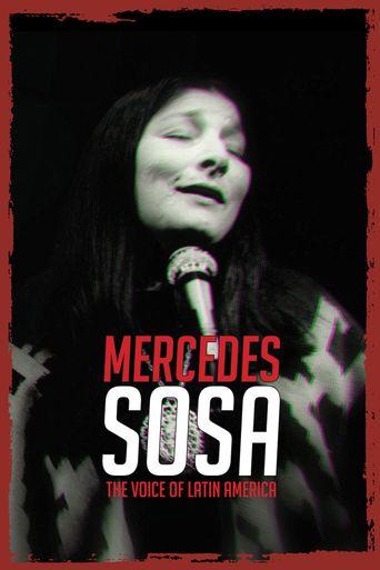 Mercedes Sosa, The Voice of Latin America Poster
