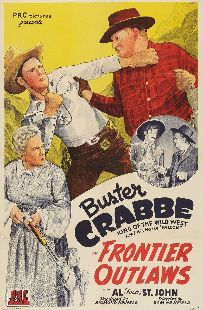 Frontier Outlaws Poster