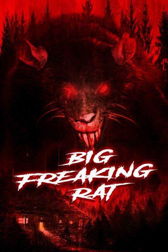 Big Freaking Rat Poster