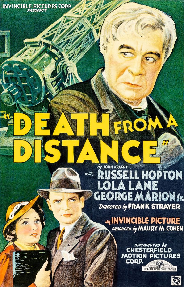 Death from a Distance Poster