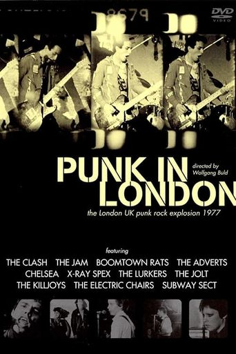 Punk in London Poster