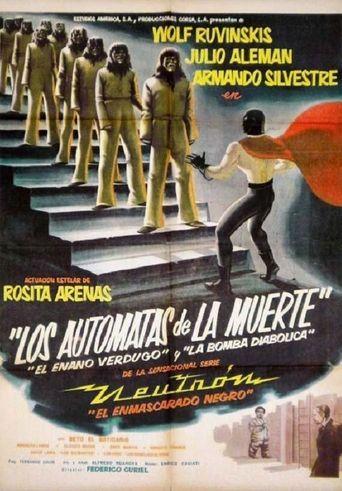 Neutron the Atomic Superman vs. the Death Robots Poster