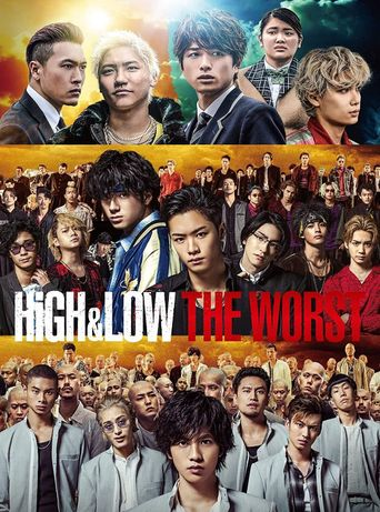 HiGH&LOW THE WORST Poster