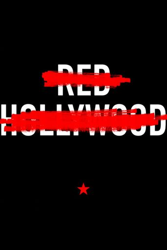 Red Hollywood Poster