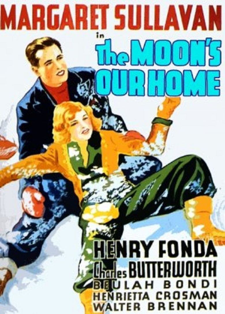 The Moon's Our Home Poster