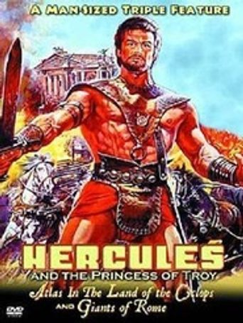 Hercules and the Princess of Troy Poster