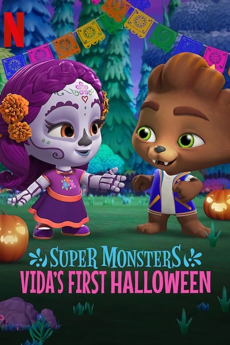 Super Monsters: Vida's First Halloween Poster