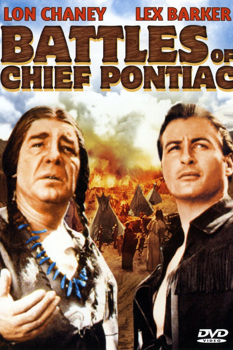 Battles of Chief Pontiac Poster